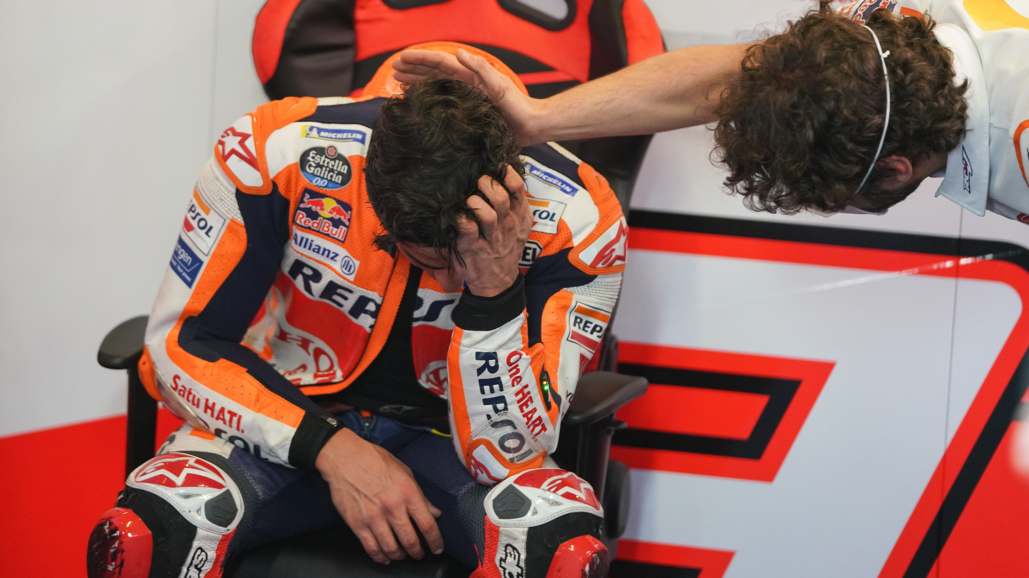 Márquez's amazing MotoGP return: now he knows he's not bombproof