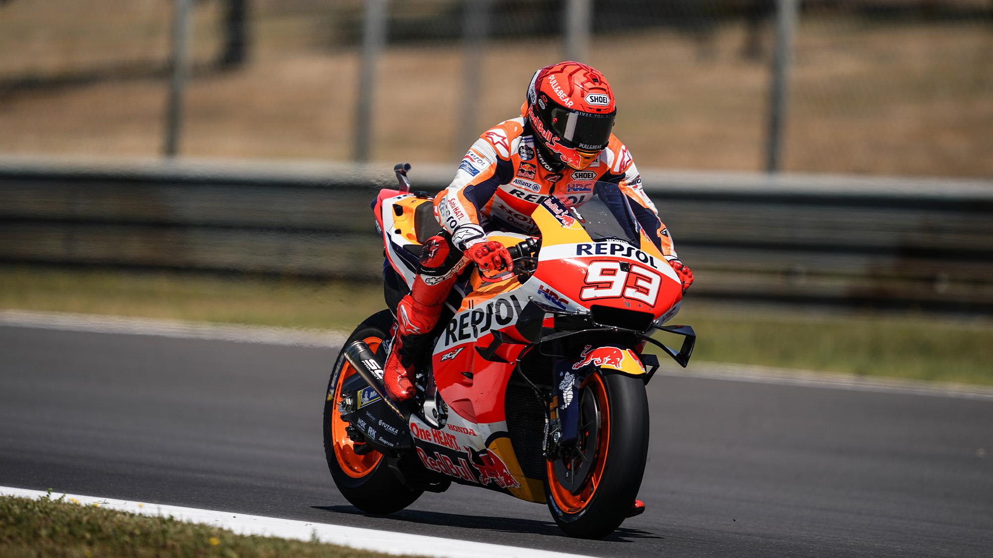 Marc Marquez returns at the 2021 MotoGP Portuguese GP