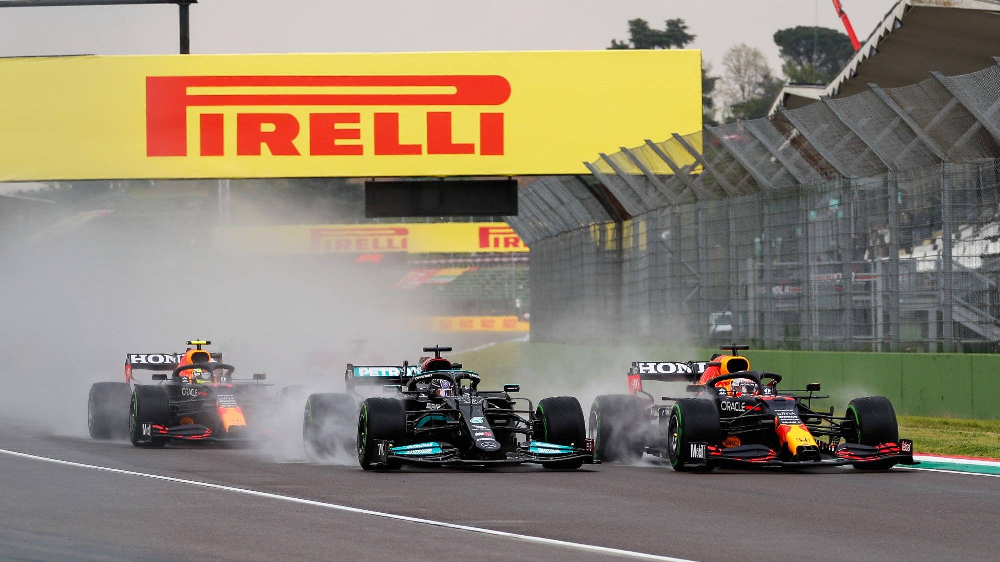 Max Verstappen, 2021 Imola GP
