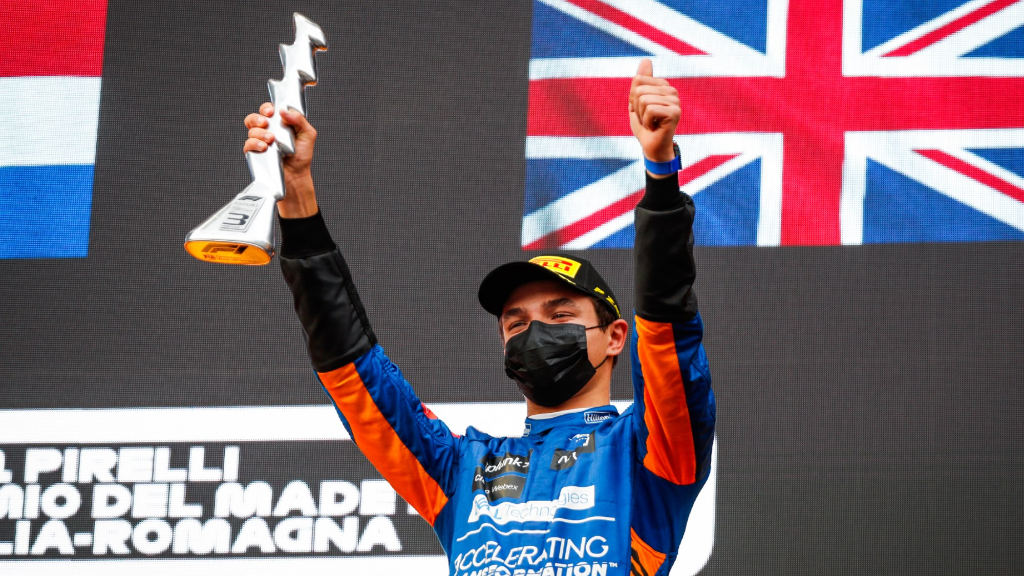 Lando Norris, 2021 Imola GP