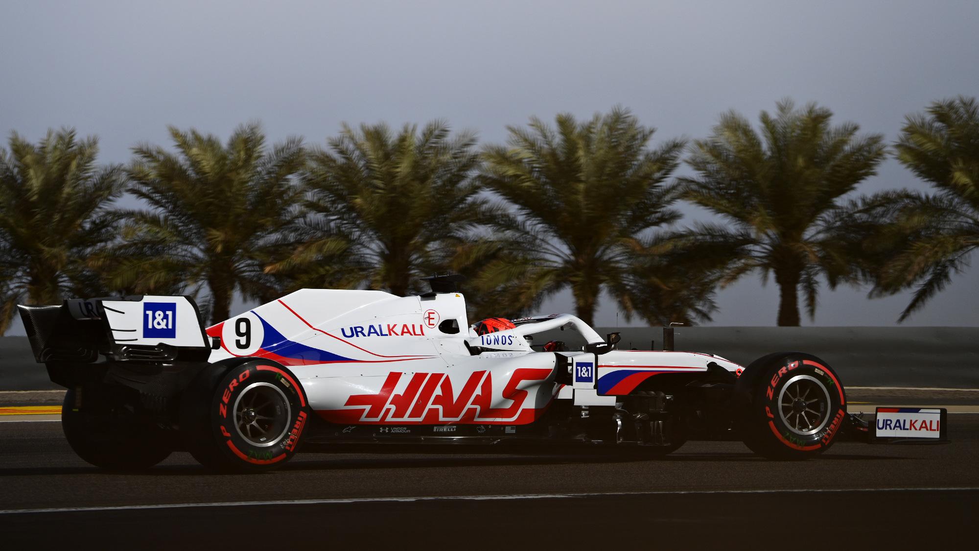 Haas, 2021 Bahrain GP Nikita Mazepin