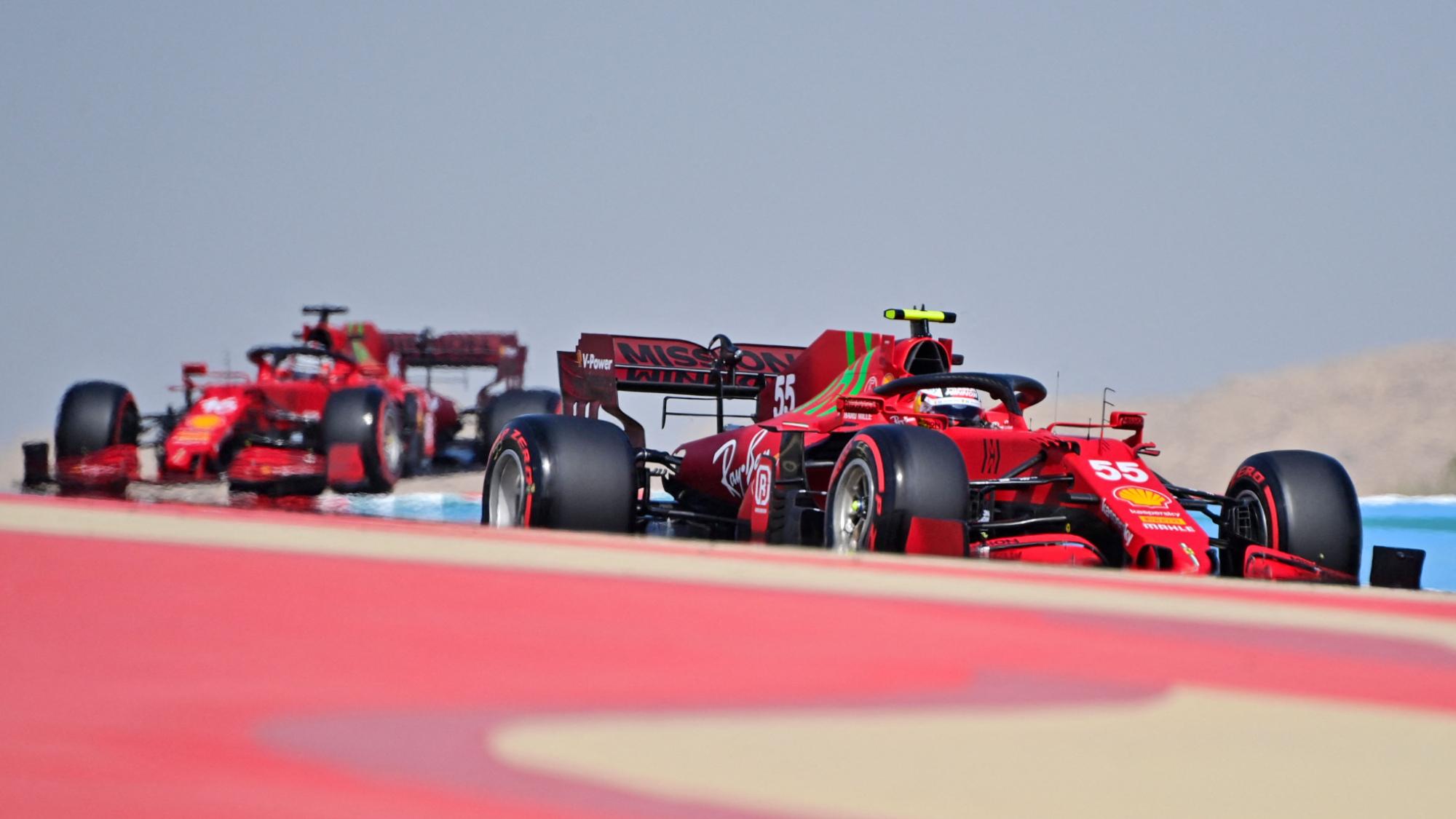 Ferrari, 2021 Bahrain GP
