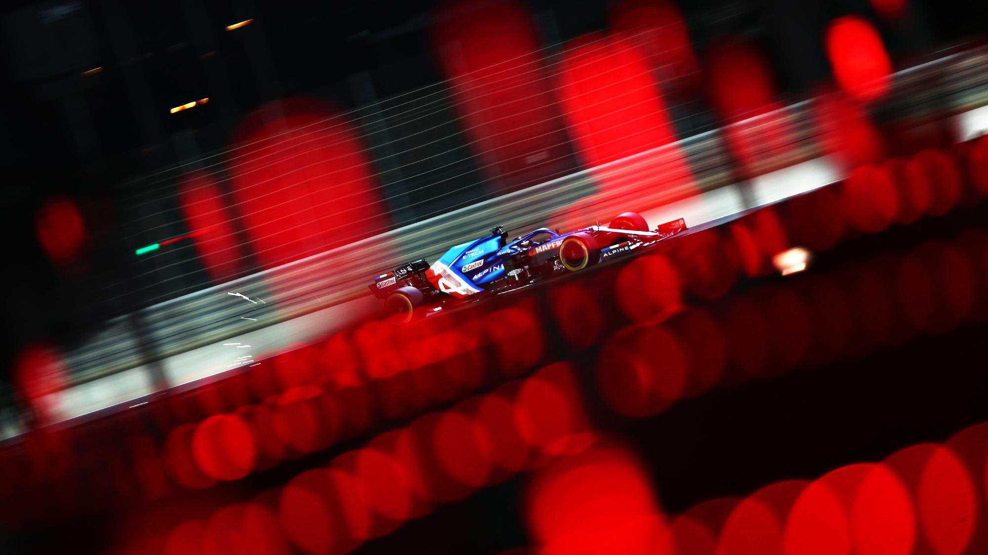 Esteban Ocon, 2021 Bahrain GP