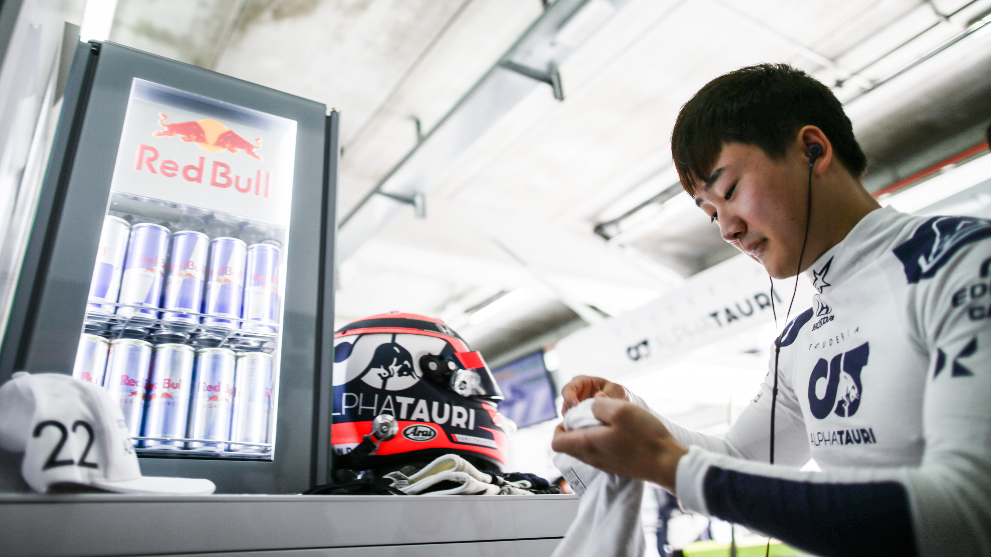 Yuki Tsunoda, 2021 Imola GP