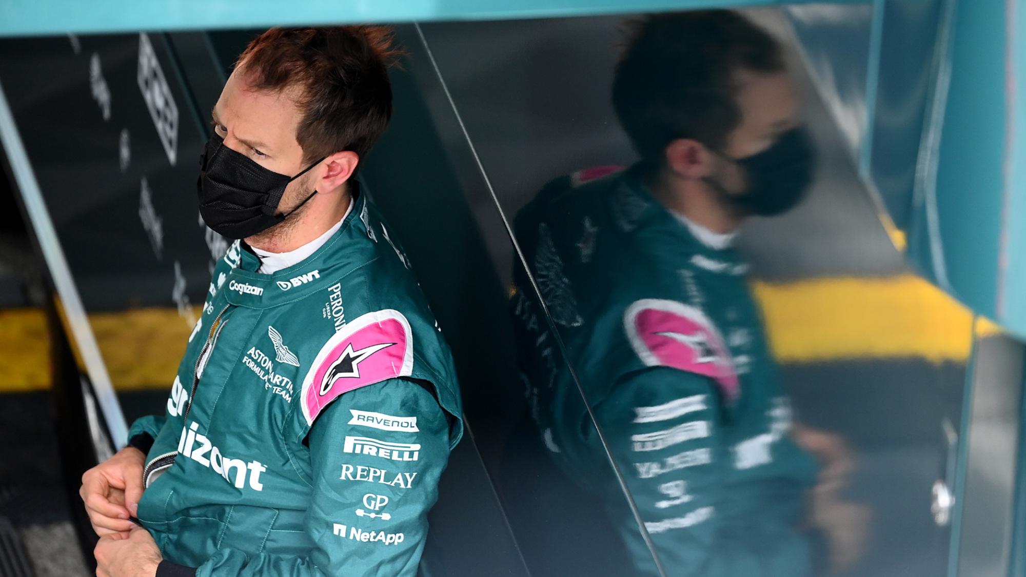 Sebastian Vettel, 2021 Imola GP