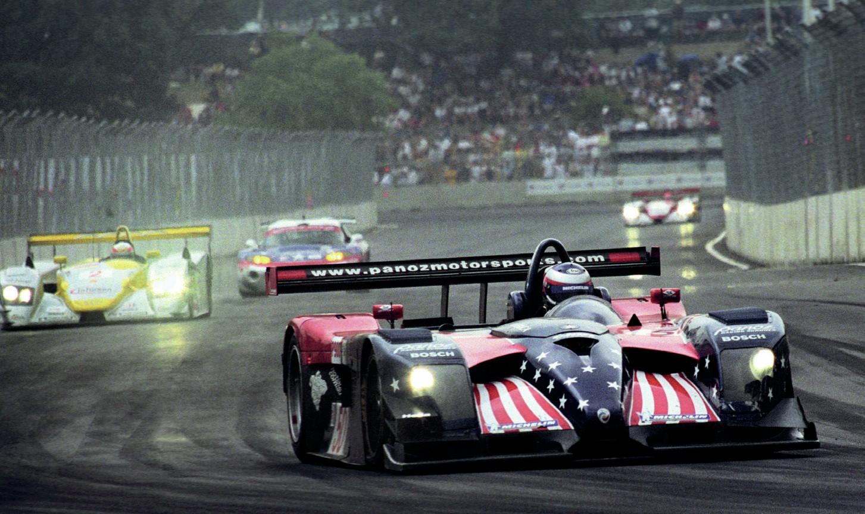 Panoz of Jan Magnussen at the Cadillac Grand Prix
