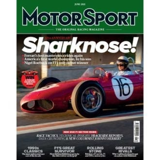 Product image for June 2021 | 60th Anniversary Sharknose | Motor Sport Magazine