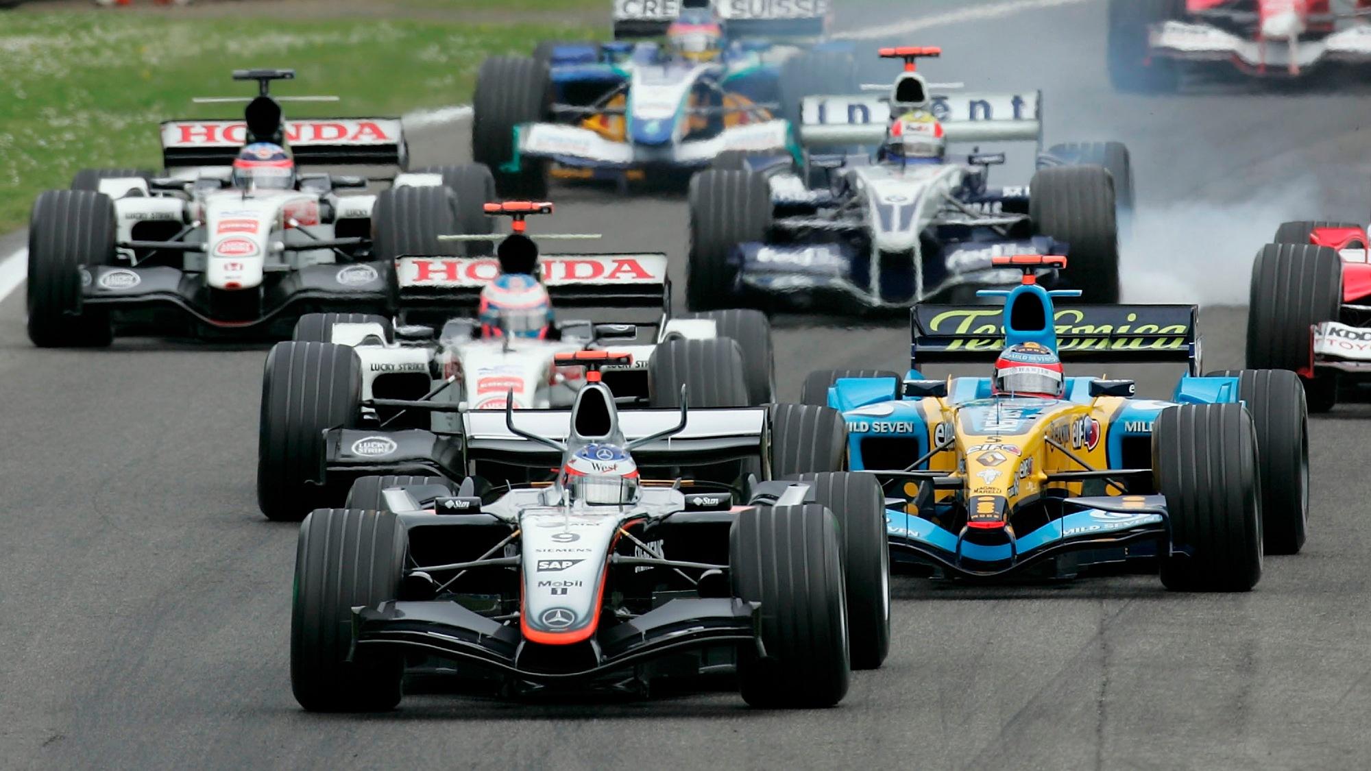Kimi Raikkonen, 2005 Imola GP