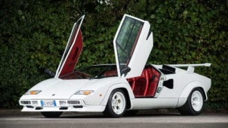 Oldest-surviving Lamborghini Countach to go on show at Pebble Beach