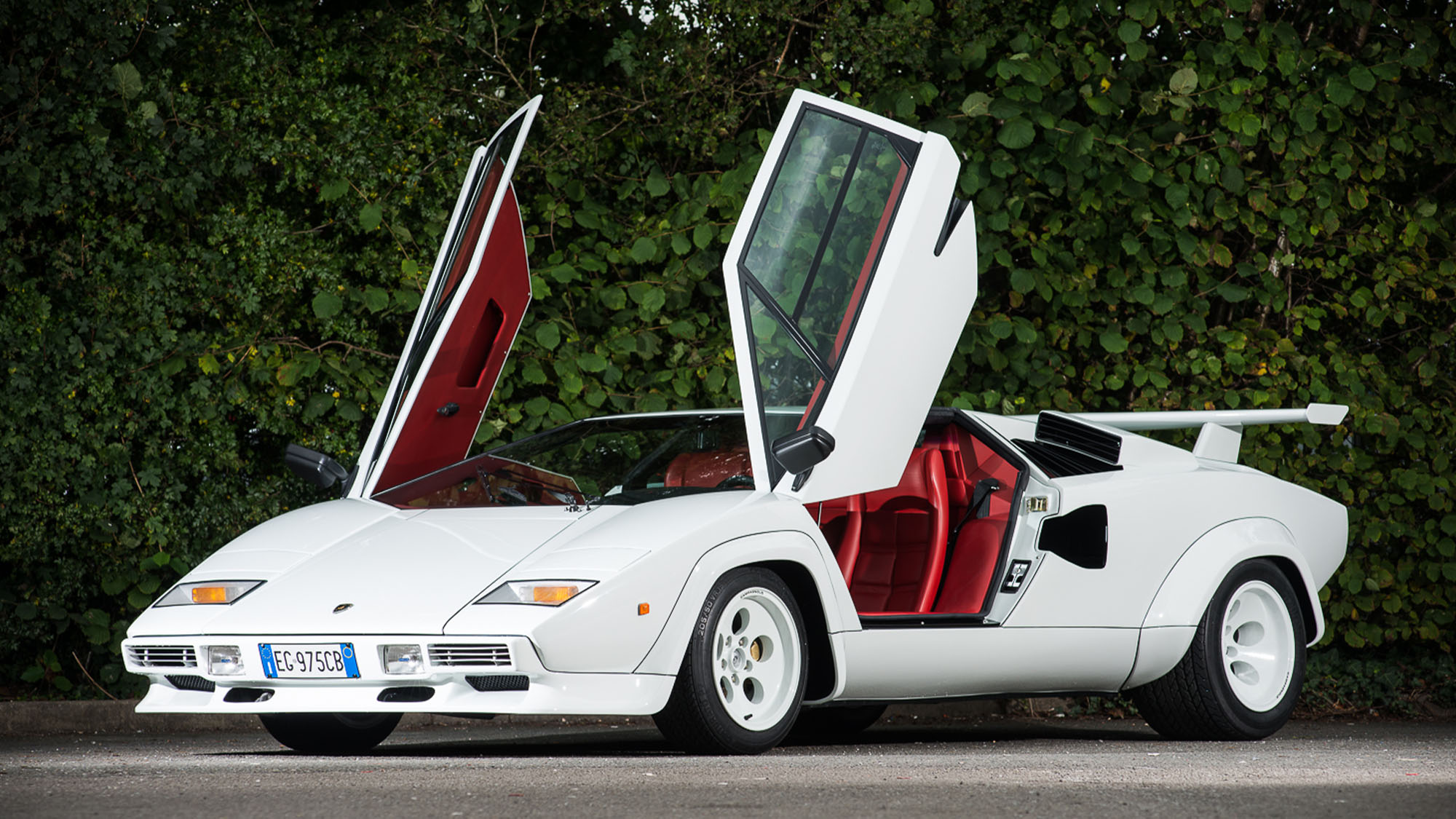 Oldest-surviving Lamborghini Countach to go on show at Pebble Beach