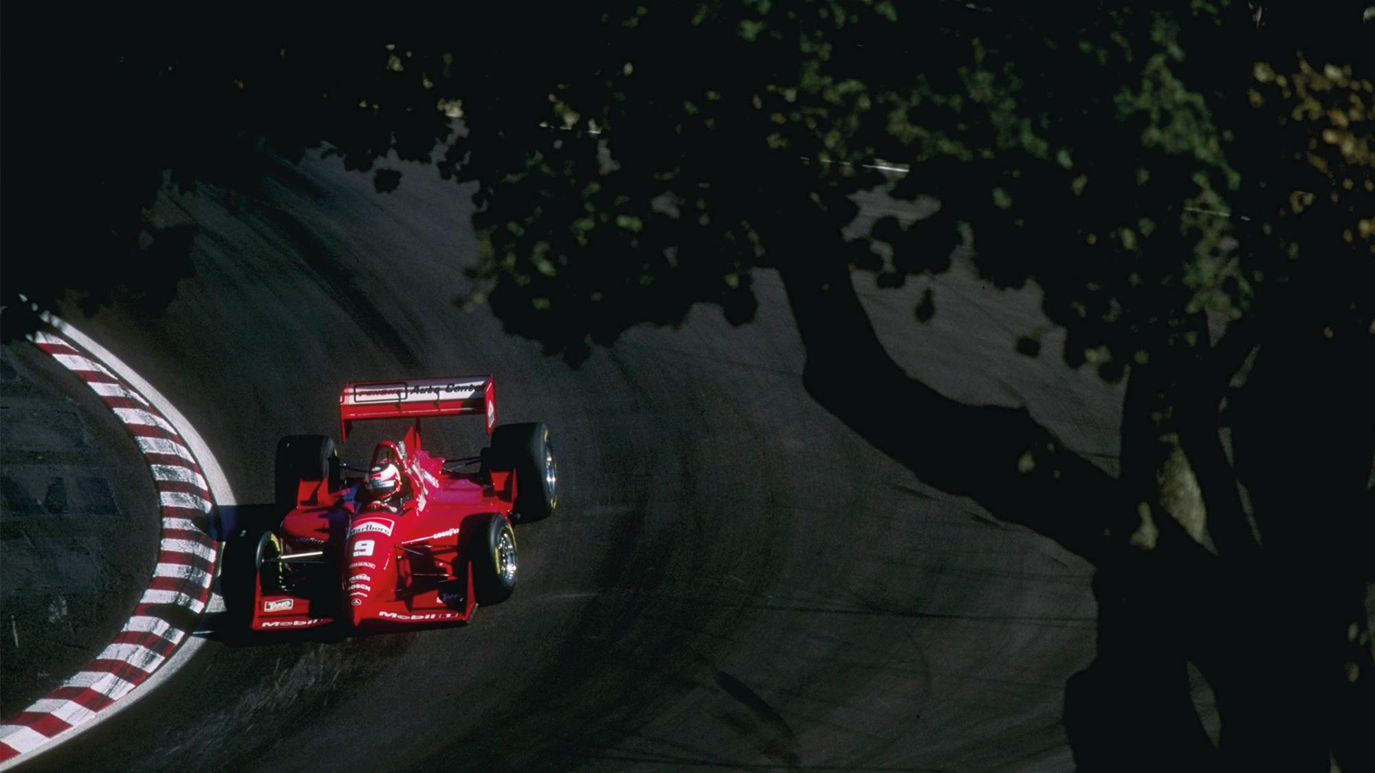 Jan Magnussen at Laguna Seca in 1996