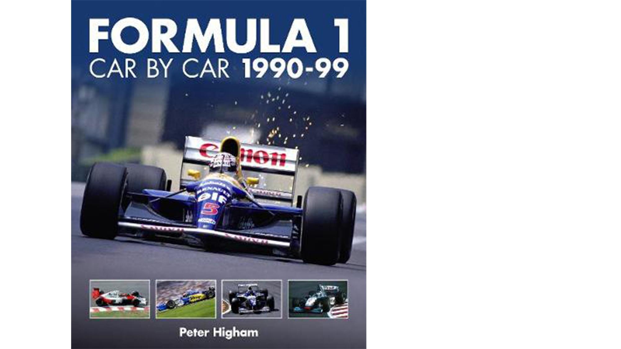 F1 car by car 1990s book