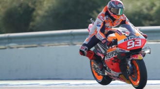 How Brembo is dealing with a half tonne MotoGP bike + rider (under braking)