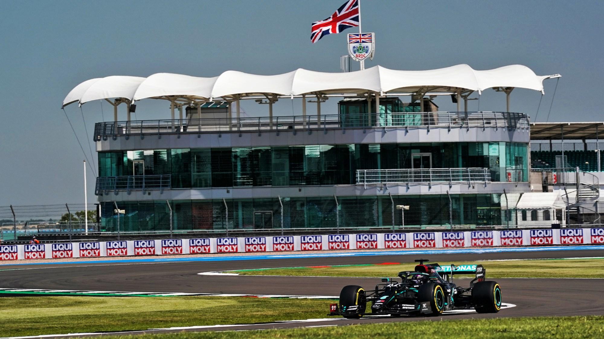 2020 British GP, Lewis Hamilton