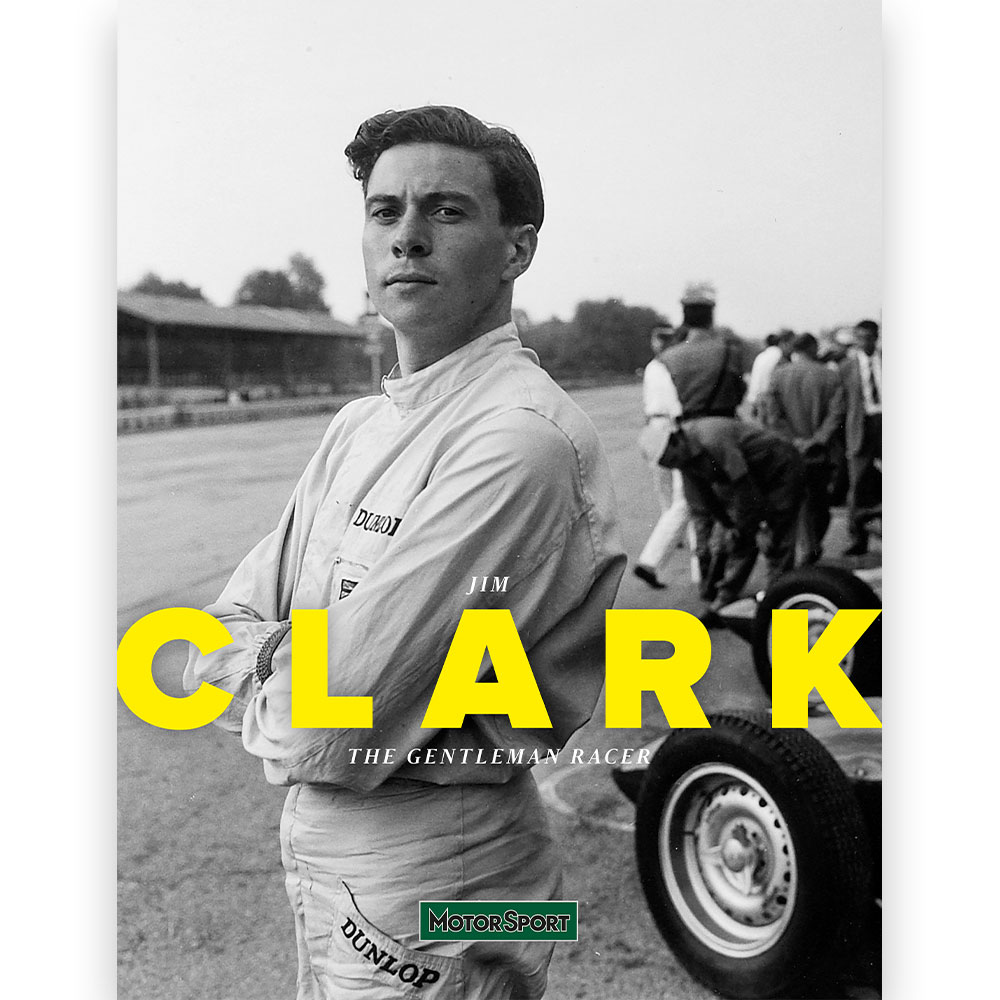 Product image for Jim Clark: The gentleman racer | Motor Sport Magazine | Collectors' Edition