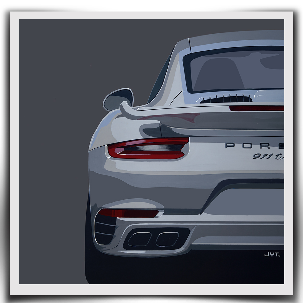 Product image for Porsche 911 Turbo S - 2010 | Jean-Yves Tabourot | Limited Edition print
