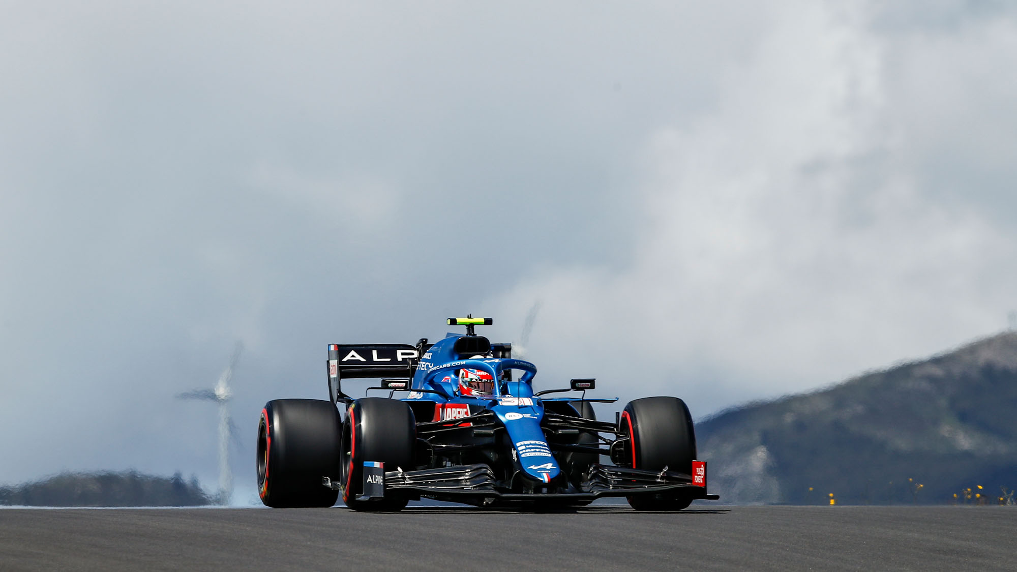 31 OCON Esteban (fra), Alpine F1 A521, action during the Formula 1 Heineken Grande Prémio de Portugal 2021 from April 30 to May 2, 2021 on the Algarve International Circuit, in Portimao, Portugal - Photo DPPI