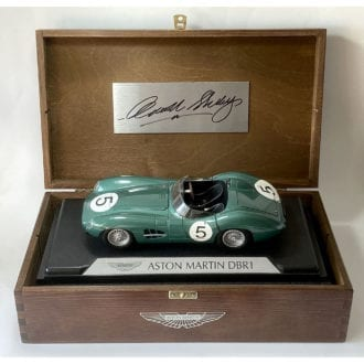 Product image for Carroll Shelby signed Aston Martin DBR1 Box Set