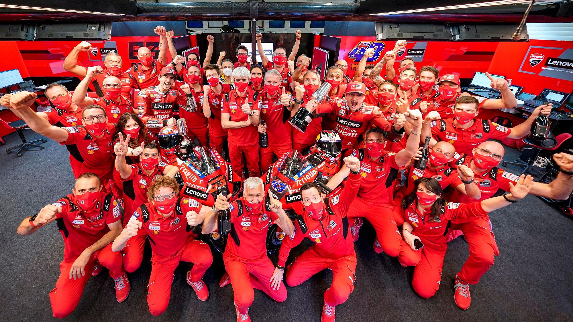 Ducati Corsa, MotoGP 2021 GP da Espanha