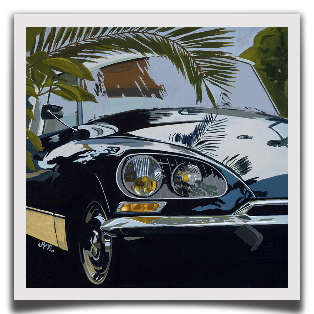 Product image for La Déesse | Citroen DS | Jean-Yves Tabourot | Limited Edition print