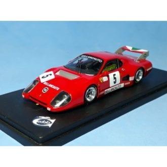 Product image for Ferrari 512BB IMSA-GTX   Ch.35529 Bellancauto Mugello 6 hours 1982   #5 Violati/Truffo Remember Models   1:43 model