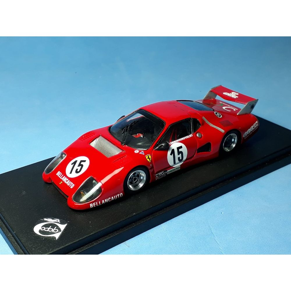 Product image for Ferrari 512BB IMSA-GTX Ch.35529 | Bellancauto 1000km Monza 1981 | #15 Flammini/Dini/Violati REMEMBER Models | factory built 1:43