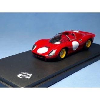 Product image for Ferrari 206S Dino press version 1966 | REMEMBER Models |1:43 Factory built