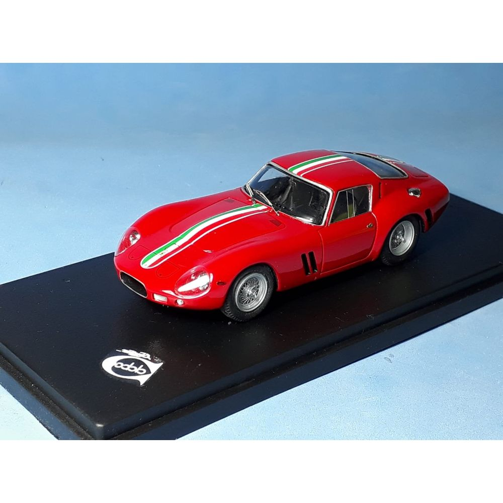 Product image for Ferrari 250 GTO chassis #3223GT | Geneva Saloon and press car 1962 | REMEMBER Models | 1:43 Factory built