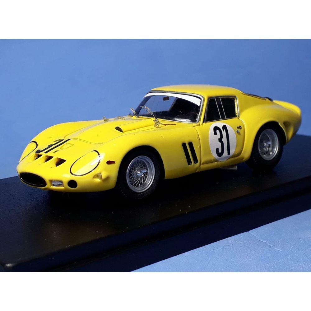 Product image for Ferrari 250 GTO 4153GT | E.Francorchamps 500km Spa 1965 | #31 Langlois van Ophem Tokoloshe | REMEMBER Models | 1:43 factory built