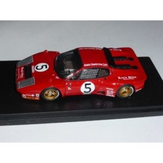 Product image for Ferrari 365 GT/BB ch.18139 Imsa 24h Daytona 1978   #5 Migault/Guitteny/Young   REMEMBER Models   1:43 Factory built