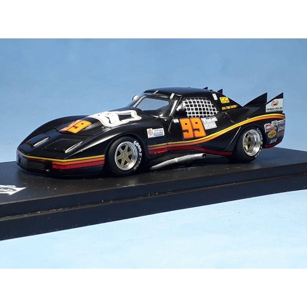 Product image for Chevrolet Corvette | IMSA Bar-Baron 24h Daytona 1980 | #99 Phil Currin | REMEMBER Models | 1:43 factory built