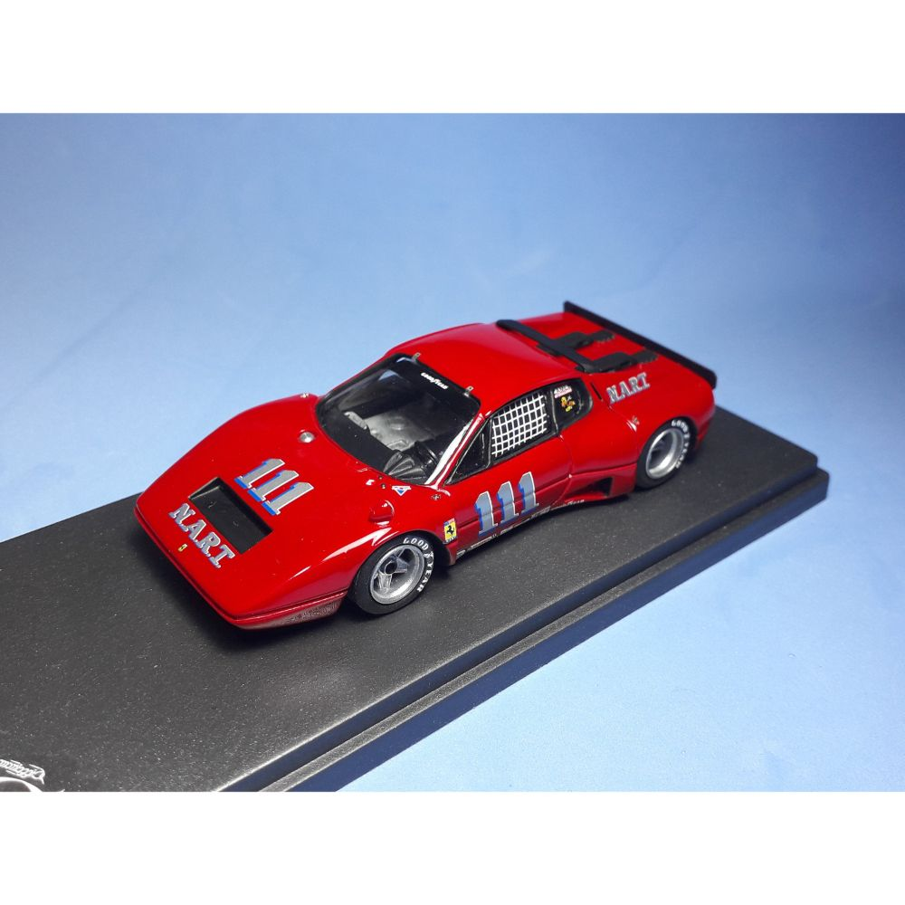 Product image for Ferrari 365 GT/BB Nart | 100 miles of Lime Rock 1975 | #111 Minter | REMEMBER Models | 1:43 Factory built