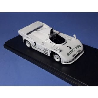 Product image for Porsche 908/4 Turbo   Gr6 Siggi Brunn / Herbert Mueller   1000km Nurburgring 1981 #3   REMEMBER Models   1:43 - Factory built