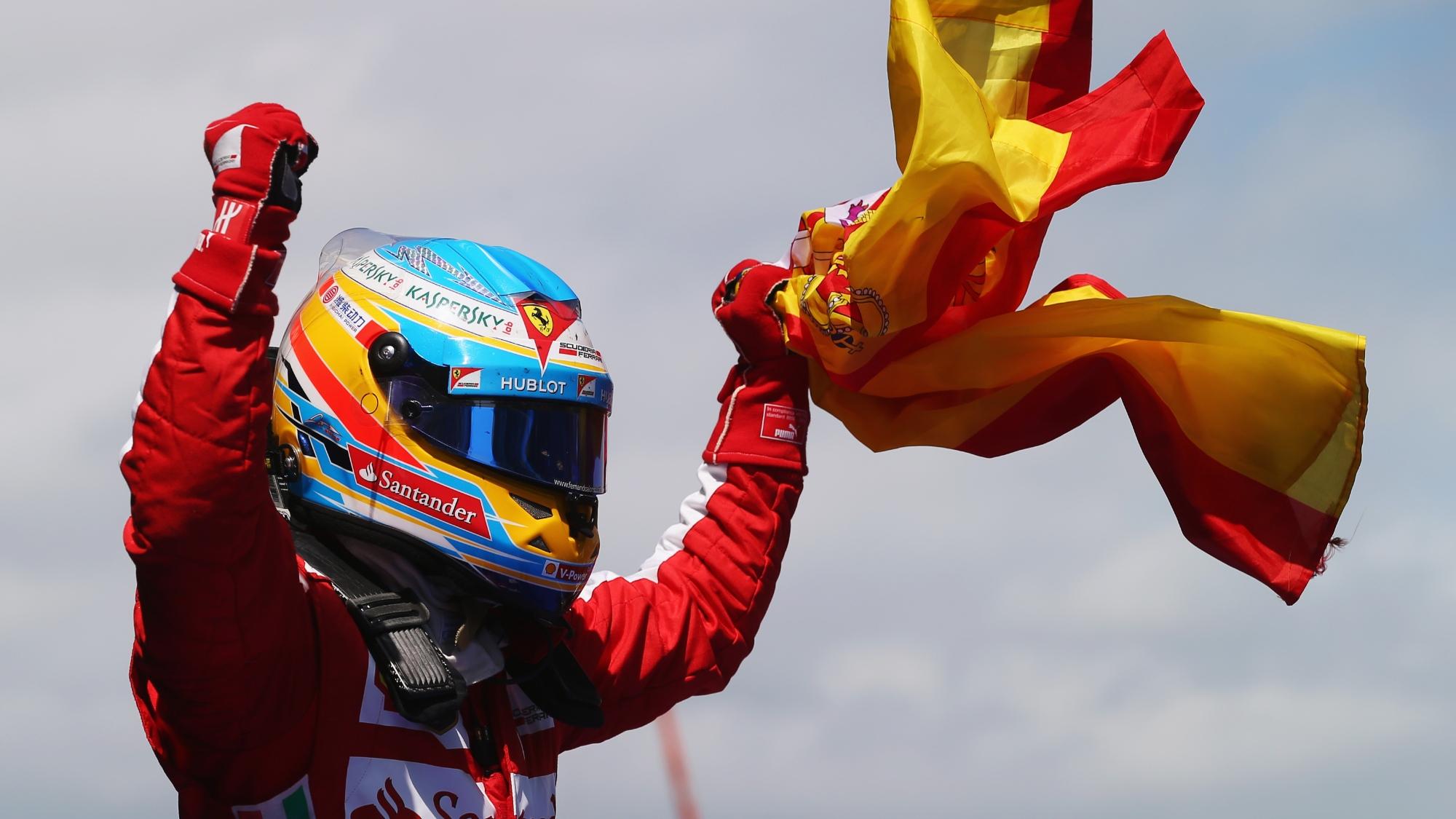 Fernando Alonso, 2013 Spanish GP