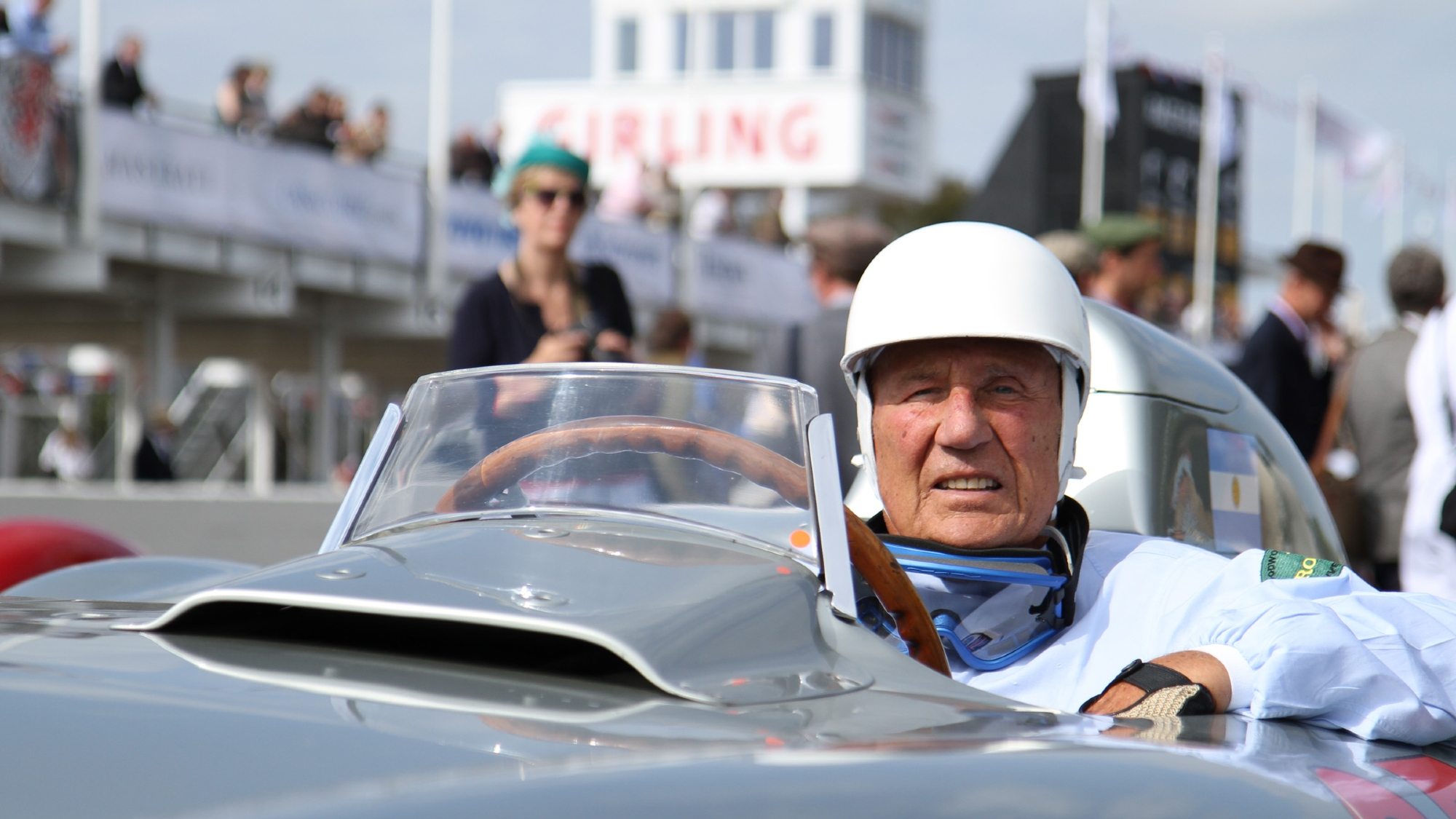 Sir Stirling Moss, Goodwood Revival 2011