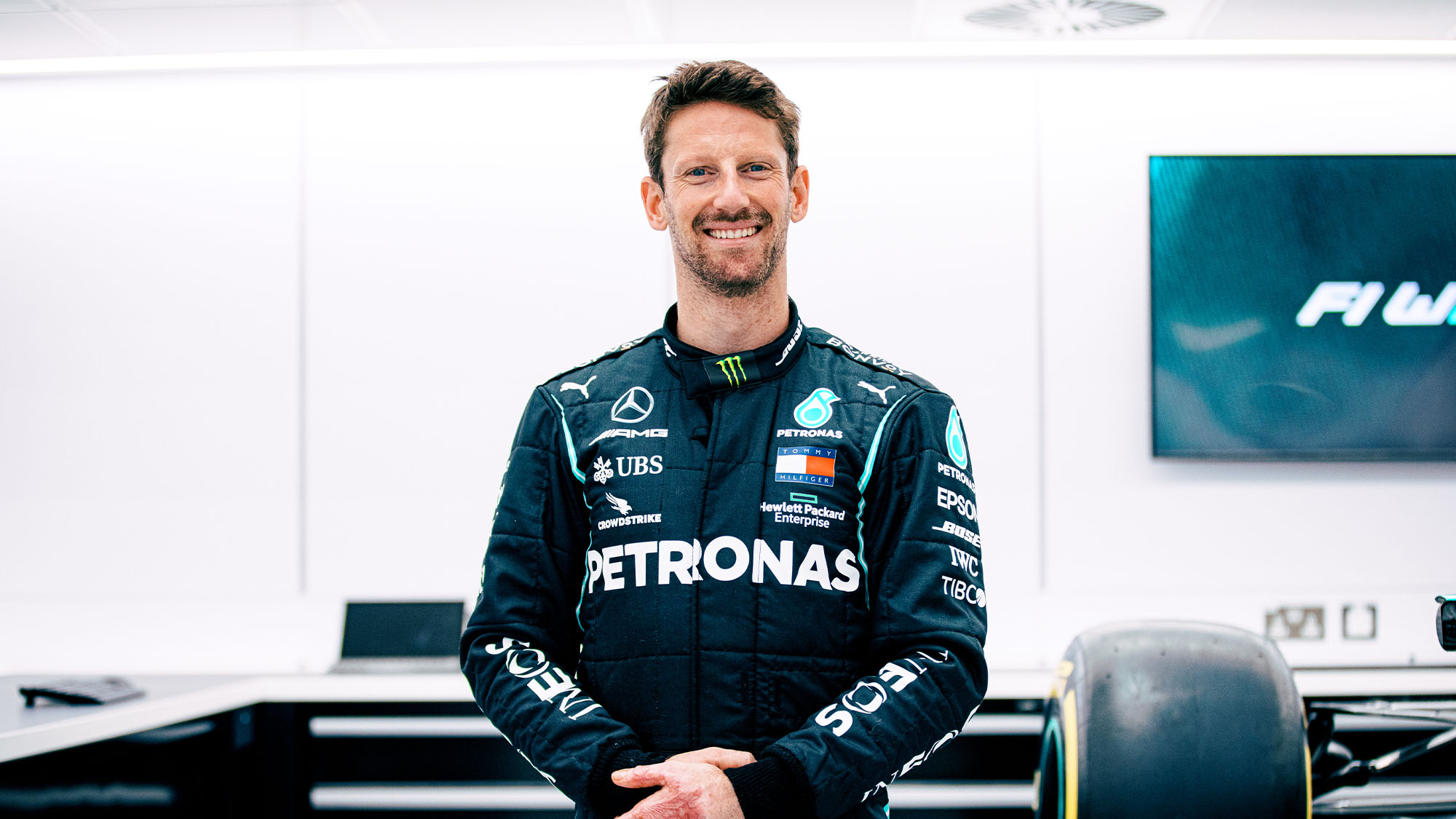 Romain Grosjean to drive Mercedes F1 car in one-off test return