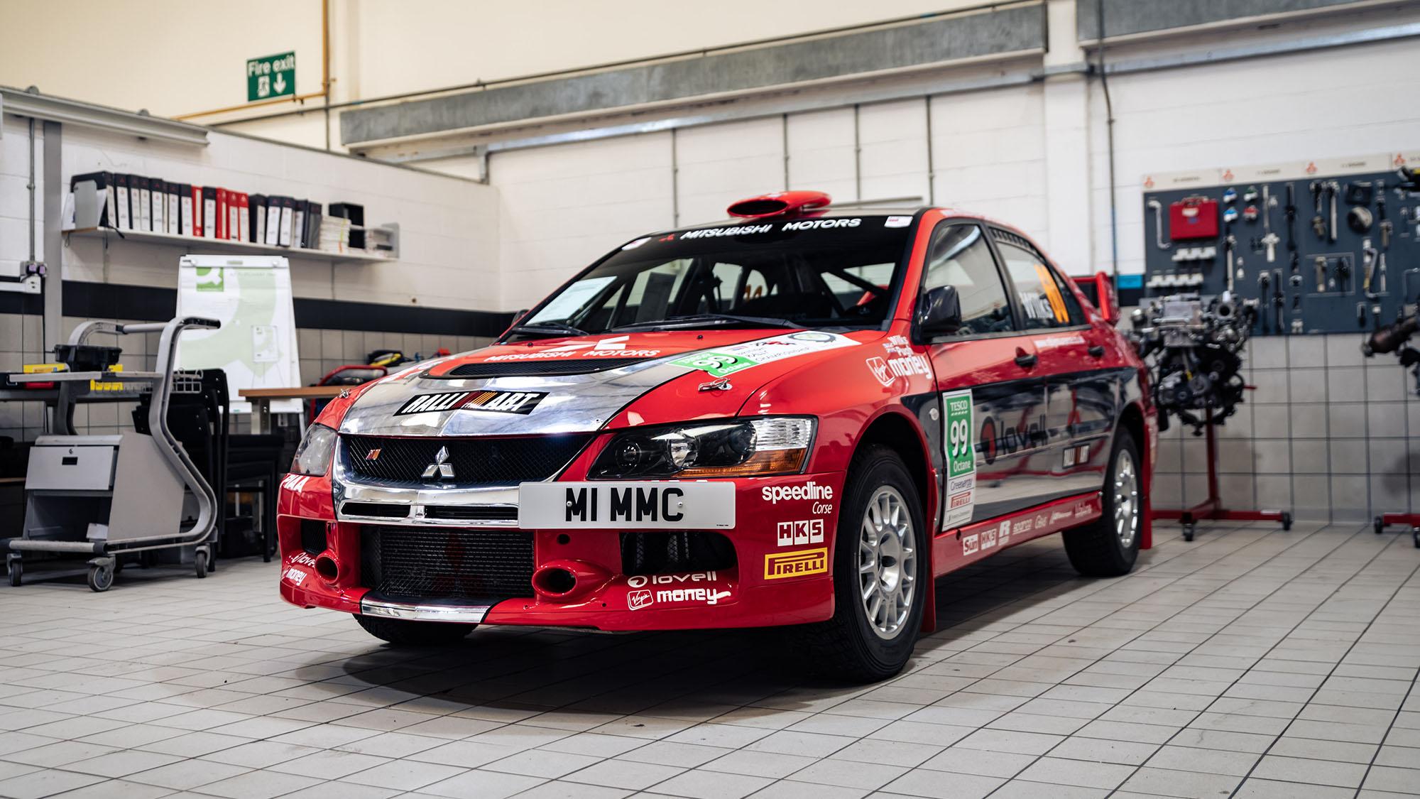 Mitsubishi Evo IX Group N