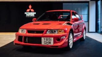 Mäkinen Mitsubishi Evo breaks world record at auction