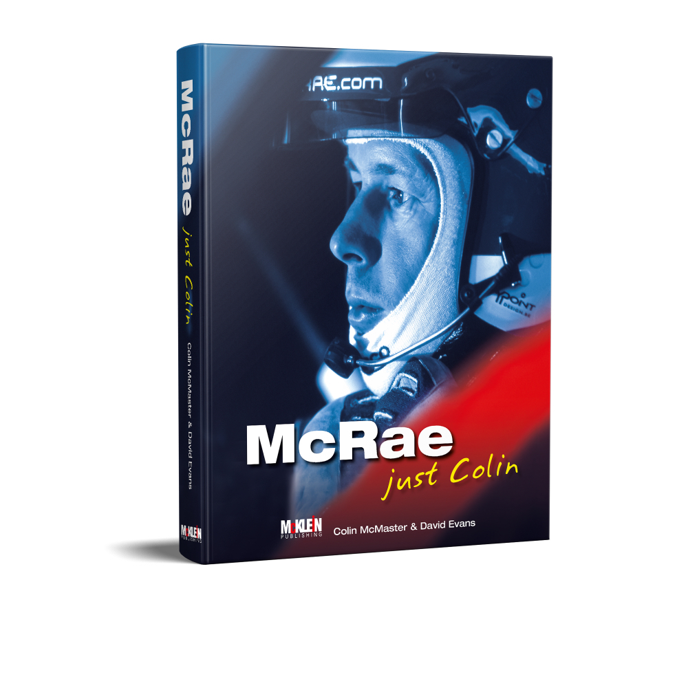 Product image for McRae, just Colin | Colin McMaster & David Evans | Mcklein Publishing | Hardback