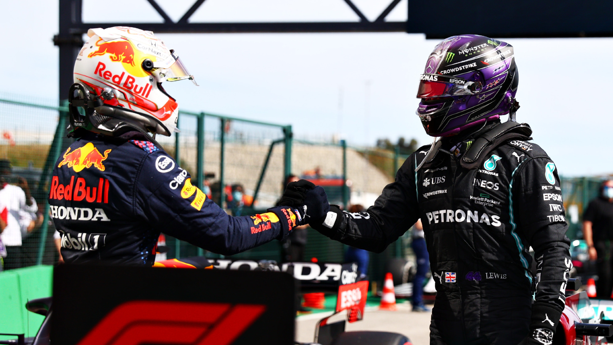 A straight title fight with Verstappen? 'Game on', says Hamilton