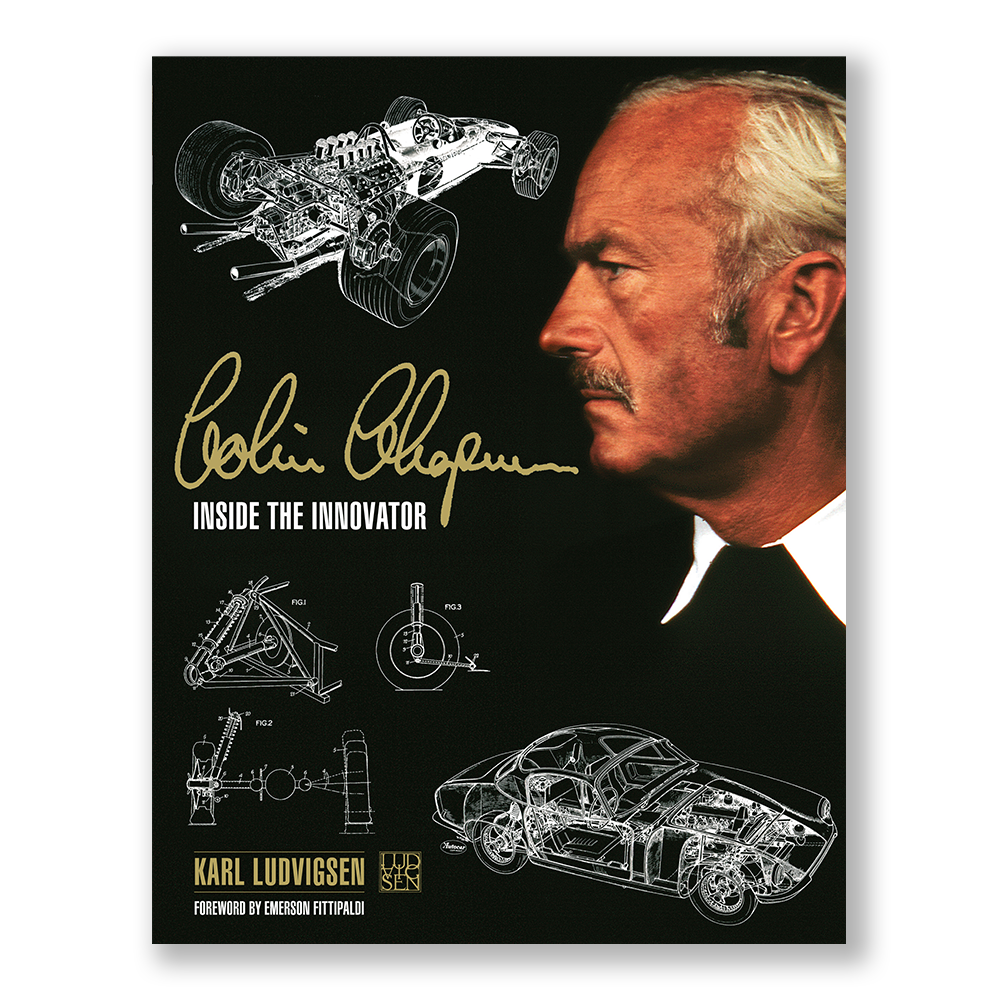 Product image for COLIN CHAPMAN: INSIDE THE INNOVATOR | Karl Ludvigsen | Book | Hardback
