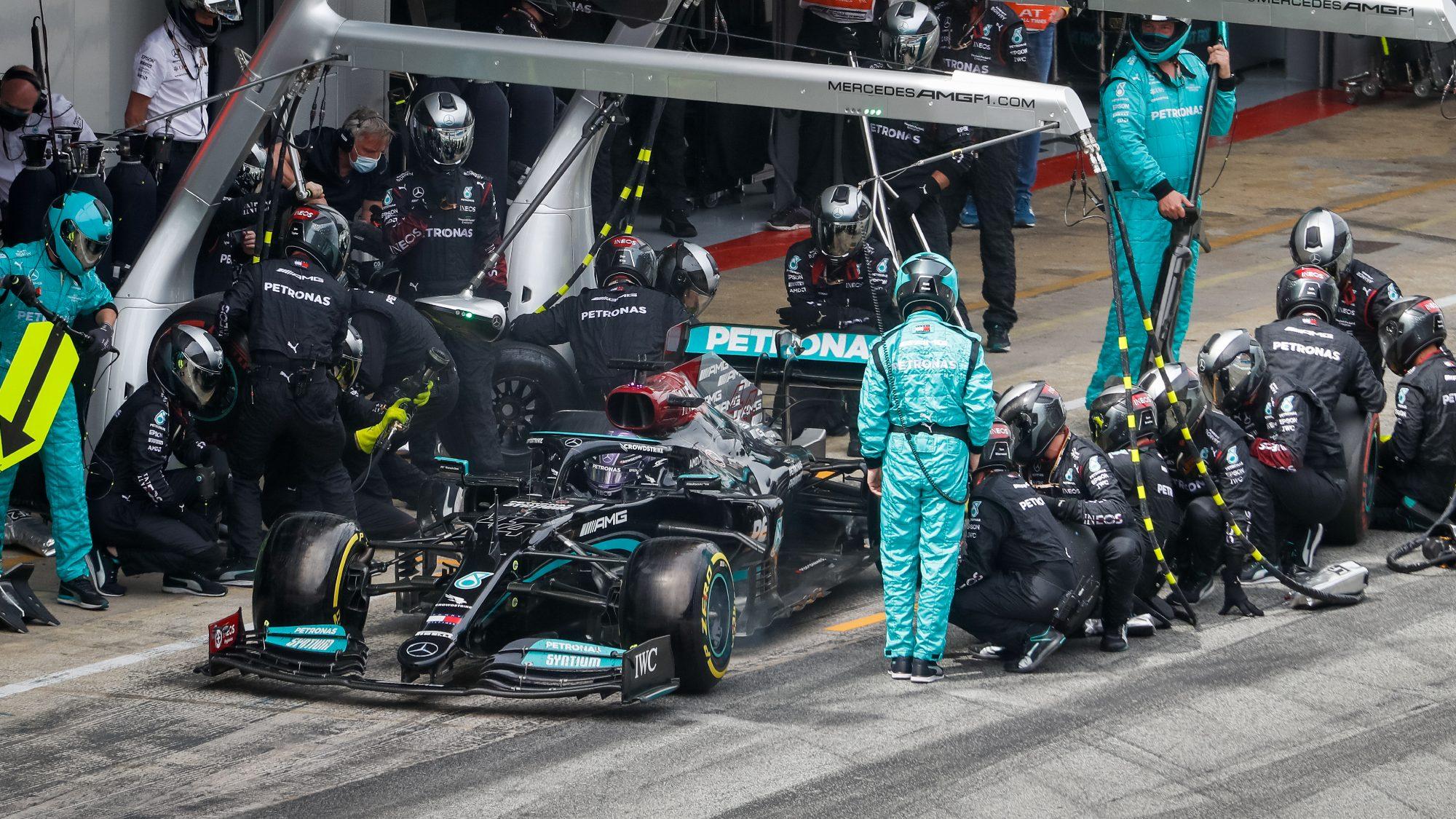 Lewis Hamilton, Premio España 2021