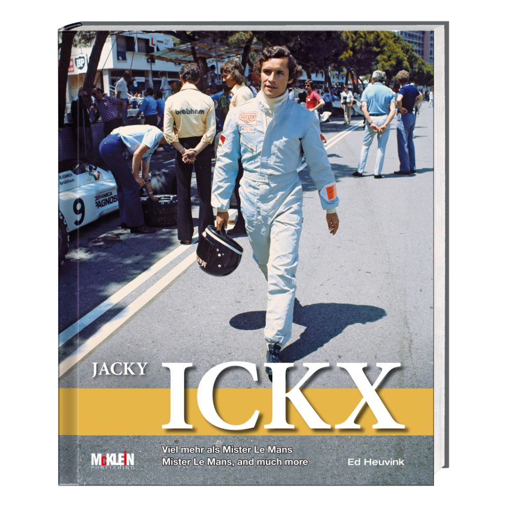 Product image for Jacky Ickx | Mister Le Mans, and much more | Ed Heuvink | Hardback