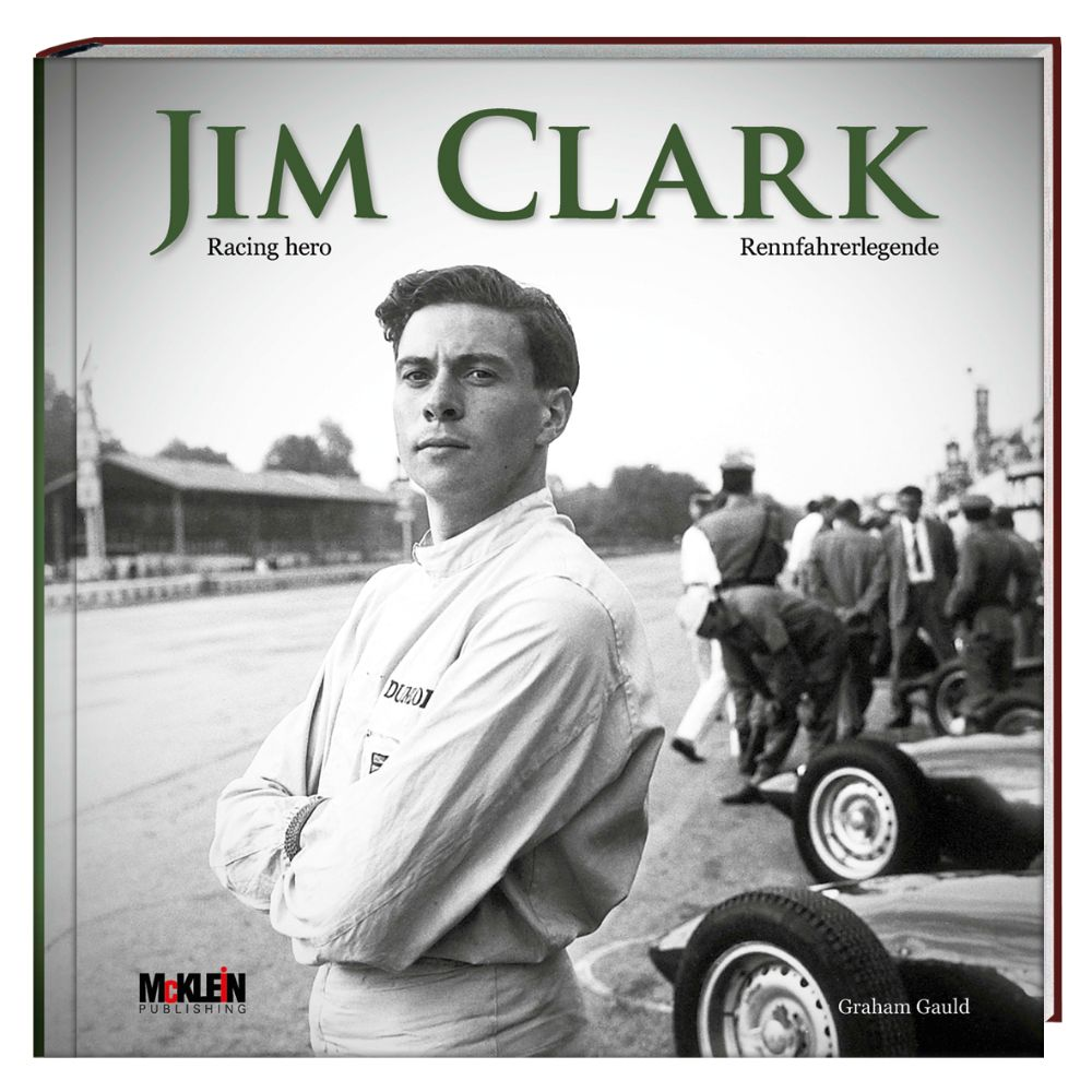 Product image for Jim Clark | Racing Hero | Graham Gauld | Hardback