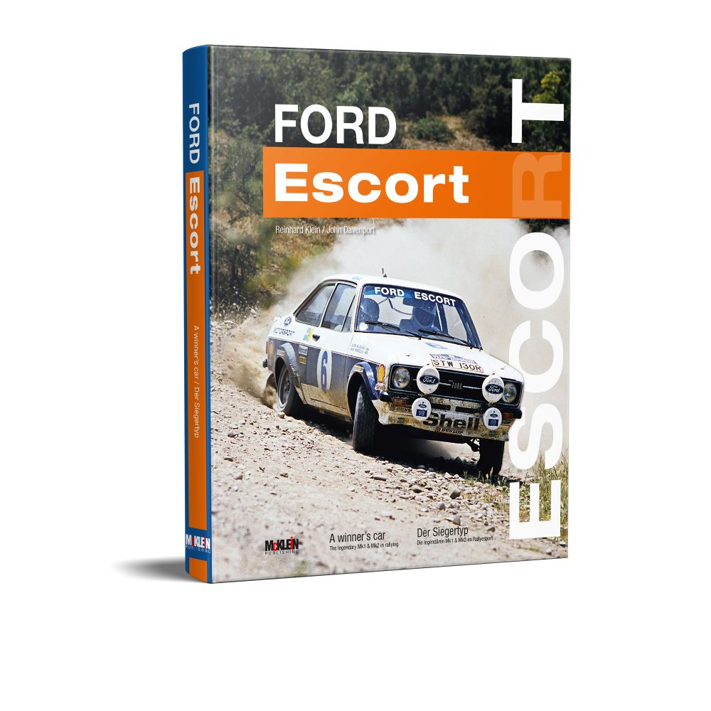 Product image for Ford Escort | A Winner's Car | John Davenport & Reinhard Klein | Hardback