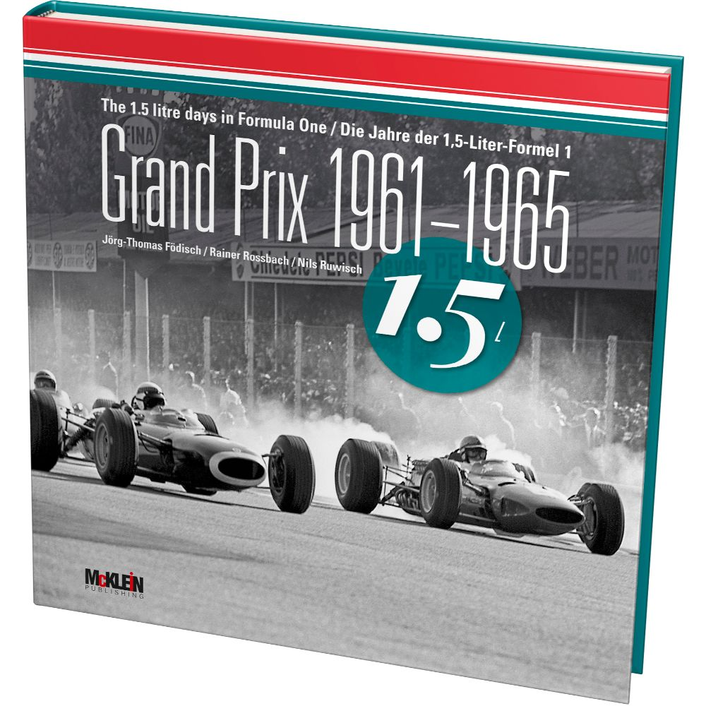 Product image for Grand Prix 1961-1965 | Jorg-Thomas Fodisch, Rainer Rossbach & Nils Ruwisch | Hardback