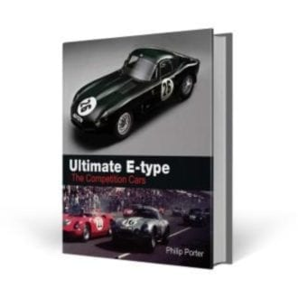 Product image for Ultimate E-Type: The Competition Cars | Philip Porter | Hardback
