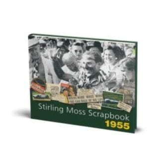 Product image for Stirling Moss Scrapbook 1955 | Stirling Moss & Philip Porter | Hardback