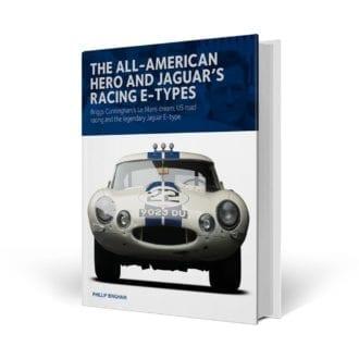 Product image for The All-American Hero and Jaguar's Racing E-Types | Philip Bingham | Hardback
