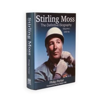 Product image for Stirling Moss: The Definitive Biography | Philip Porter | Hardback